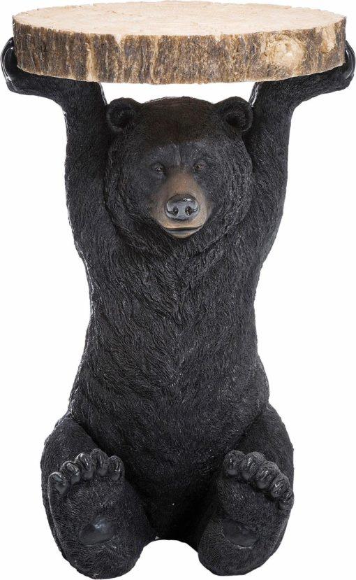 Niezwykły, dekoracyjny stolik w kształcie niedźwiedzia