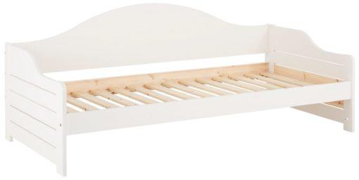 Tapczan z litego drewna sosnowego 90x200 cm