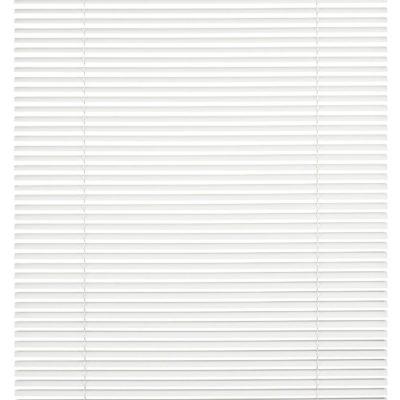 Aluminiowe żaluzje w kolorze białym 90x130 cm