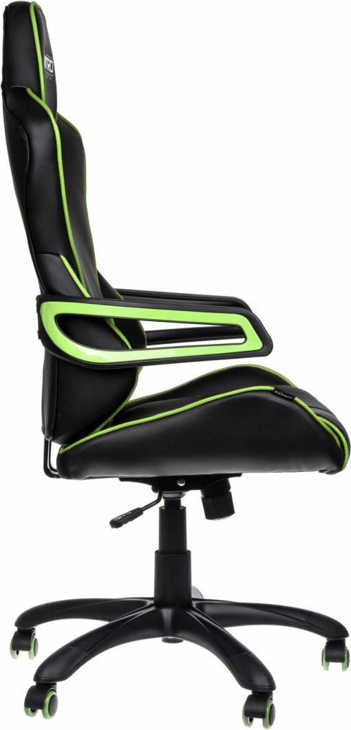 Fotel gracza Nitro Concepts, czarno-zielony