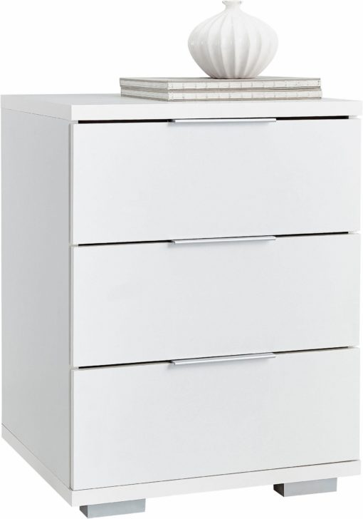 Ponadczasowa szafka nocna z trzema szufladami