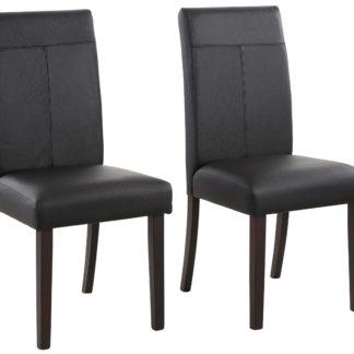 Tapicerowane krzesła, zestaw 2 sztuki