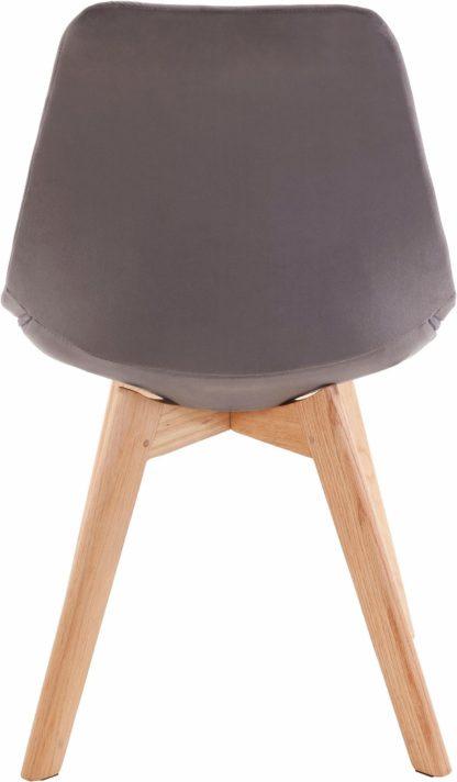 Zestaw czterech krzeseł w stylu retro