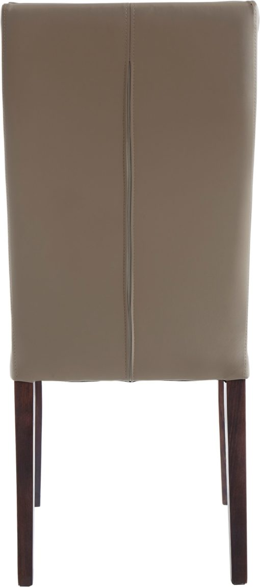 Gustowne krzesła ze sztucznej skóry - 2 sztuki