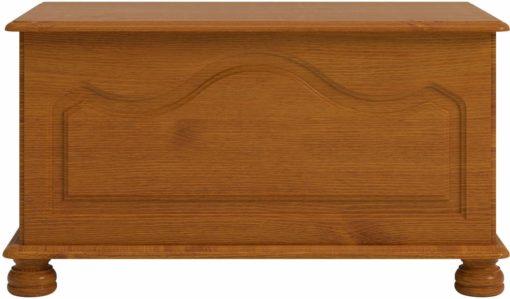 Solidna ławka z litego drewna