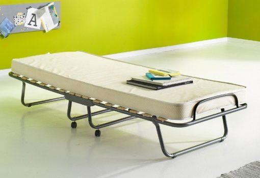 Składane łóżko polowe, idealne dla gości