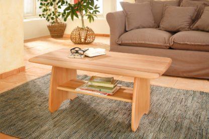 Prosty i elegancki, bukowy stolik