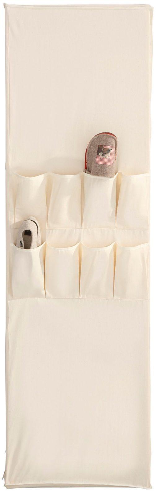 Praktyczna szafa z pokrowcem z tkaniny