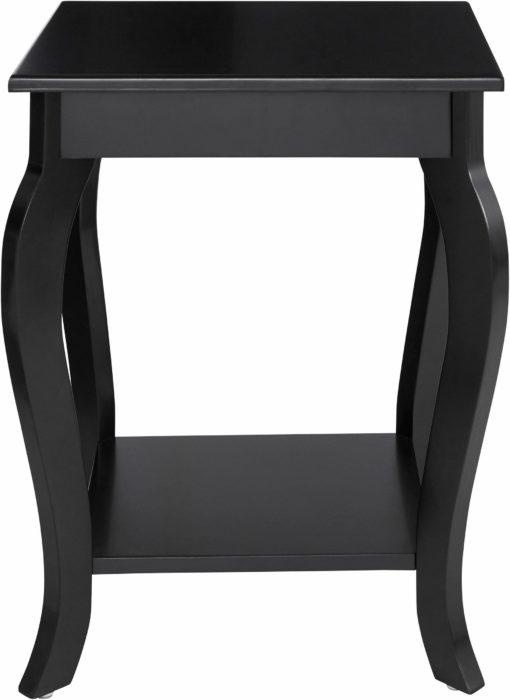 Elegancki stolik/konsola w kolorze czarnym
