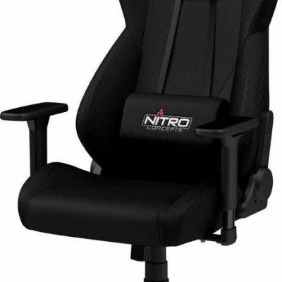 Fotel gracza Nitro Concepts, czarny