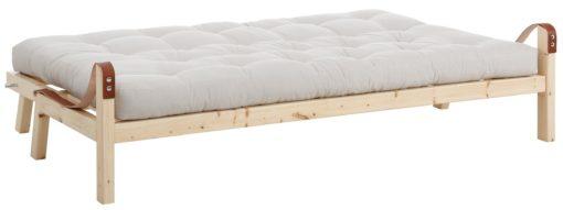 Nowoczesna rozkładana kanapa typu futon