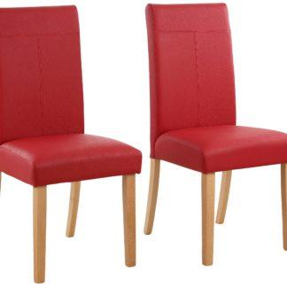 Smukłe, tapicerowane krzesła - 4 sztuki