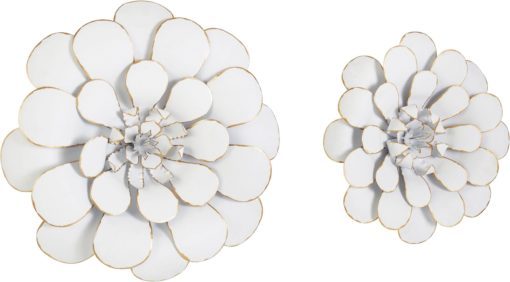 Wspaniała dekoracja ścienna - dwa kwiaty