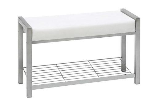Minimalistyczna ławka z półką na buty