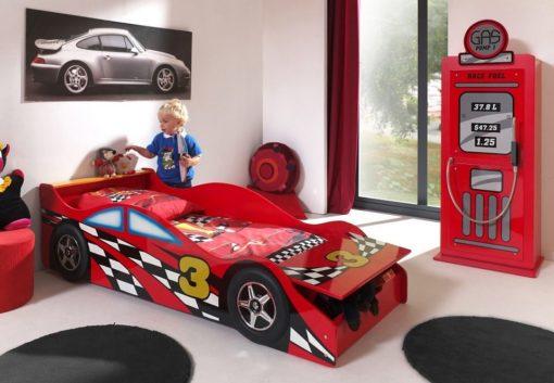 Dziecięce łóżko w kształcie auta, 70x140 cm