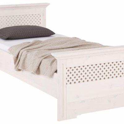 Atrakcyjne sosnowe łóżko 90x200 cm