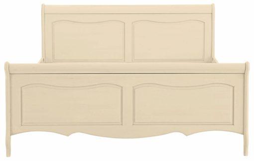 Piękne, rustykalne łóżko w kolorze kremowym 180x200 cm