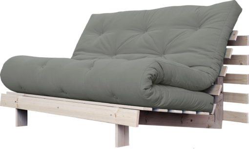 Nowoczesna kanapa z materacem futon 140 cm