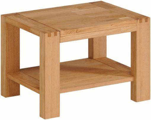 Minimalistyczny dębowy stolik
