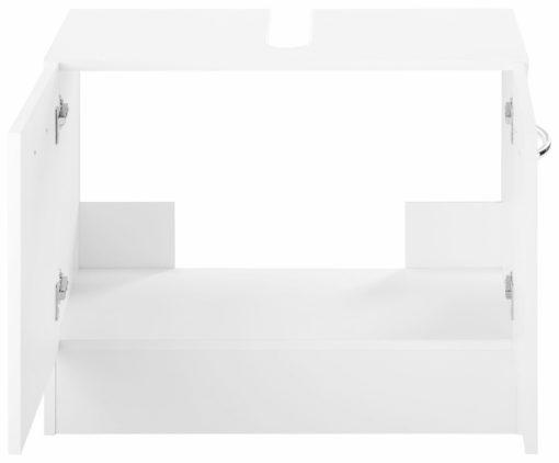 Funkcjonalna szafka pod umywalkę - biała
