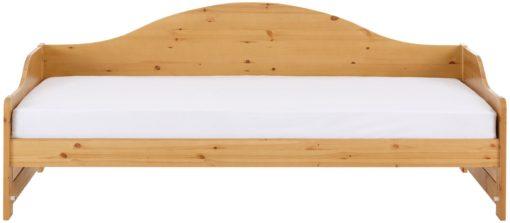 Tapczan z litego drewna sosnowego 90x200 cm, miodowy