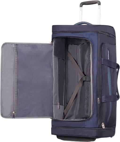 Funkcjonalna, miękka torba podróżna