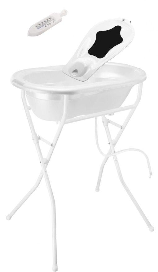 Zestaw do kąpieli niemowlęcia - wanienka z akcesoriami