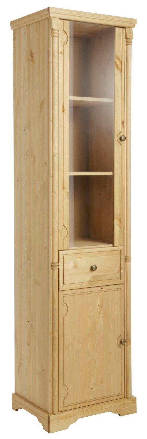 Romantyczna witryna z drewna sosnowego