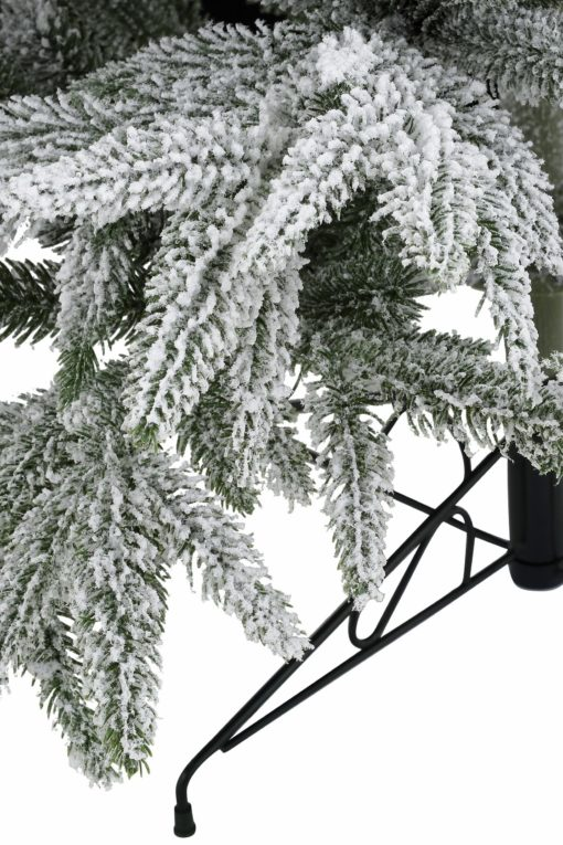 Choinka sztuczna, jodła szlachetna ze śniegiem 120 cm