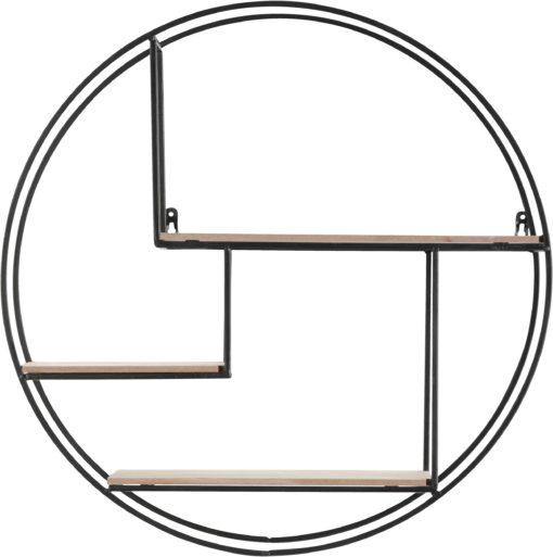 Dekoracyjna półka w kształcie koła