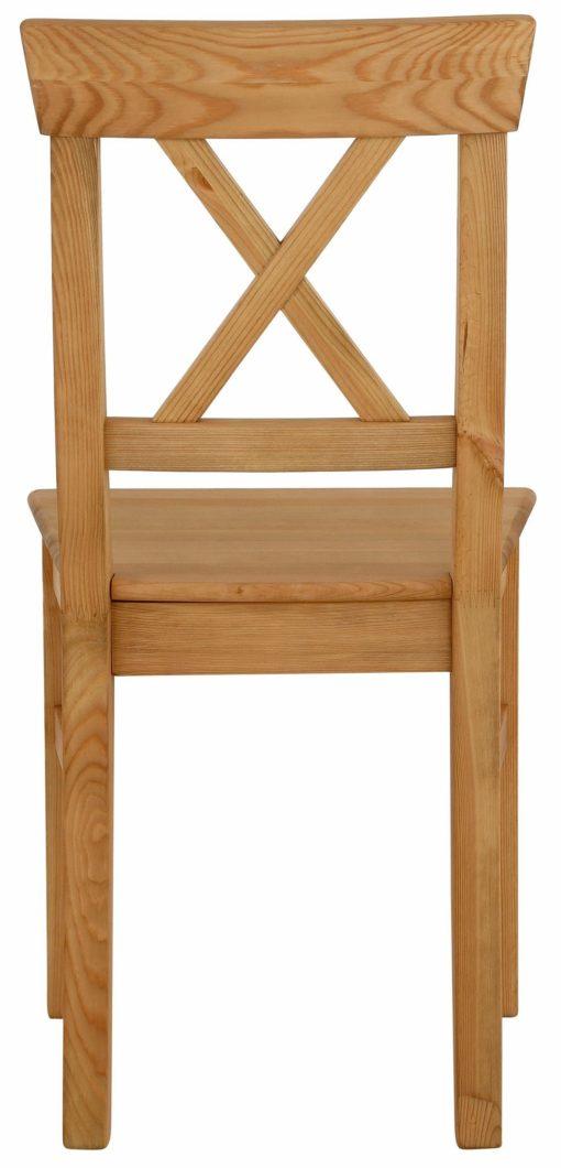 Sosnowe krzesła w pięknym stylu - 2 sztuki