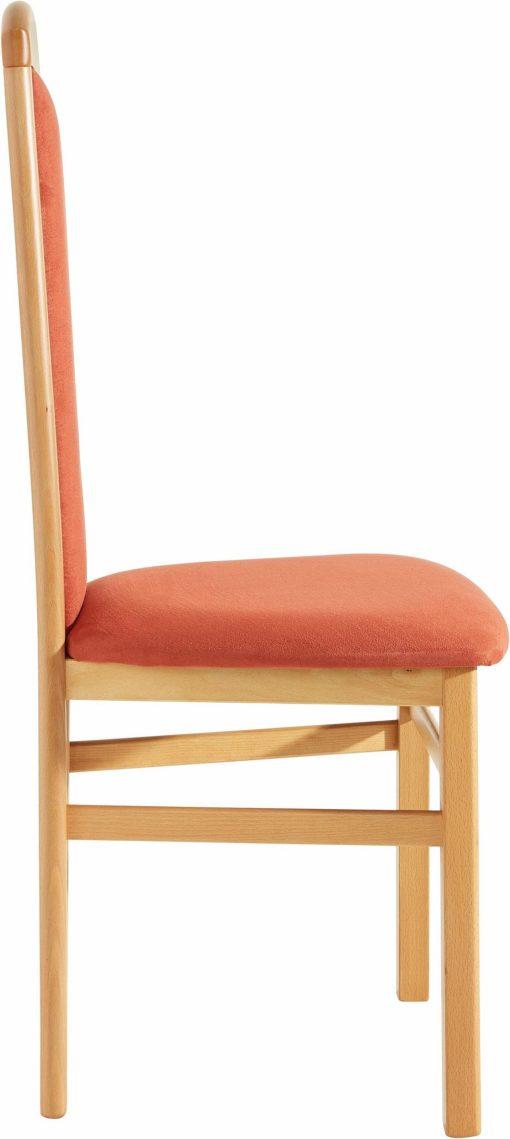Proste, ponadczasowe krzesła w zestawie 2 sztuk