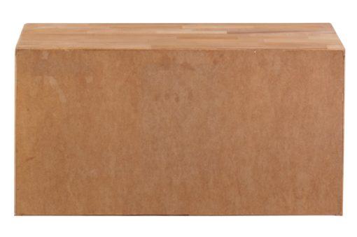 Funkcjonalna ławka do przedpokoju z drewna bukowego