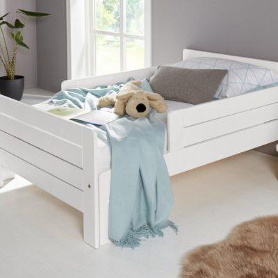 Łóżko dziecięce, które rośnie wraz z dzieckiem