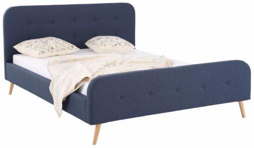 Eleganckie, tapicerowane łóżko 180x200 cm
