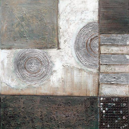 Nowoczesny, ręcznie malowany obraz na płótnie