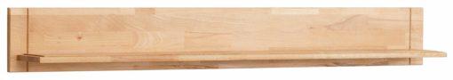 Półka ścienna, częściowo z drewna bukowego