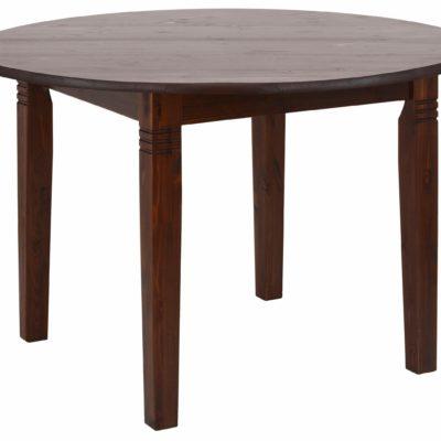 Okrągły, sosnowy stół 120 cm