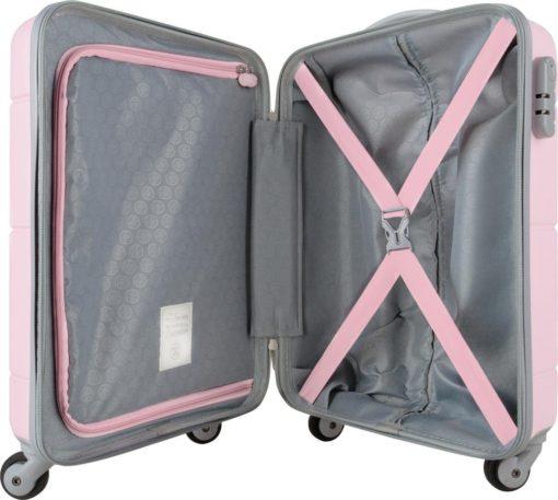 Stylowa, twarda walizka z zamkiem szyfrowym