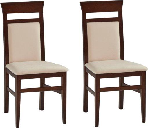 Dwa ponadczasowe krzesła, beżowe
