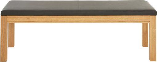 Ponadczasowo elgancka ławka z tapicerowanym siedziskiem