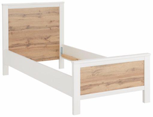 Nowoczesna, prosta rama łóżka 90x200 cm