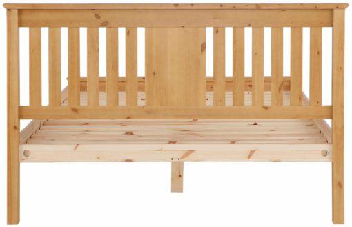 Proste, sosnowe łóżko 140x200 cm
