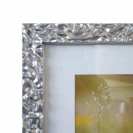 Ekstrawagancka ramka na zdjęcia, srebrna
