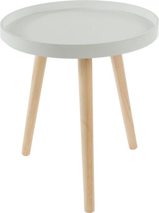 Mały stolik w skandynawskim stylu