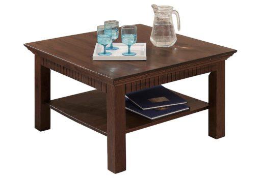 Praktyczny stolik kawowy, kolonialny