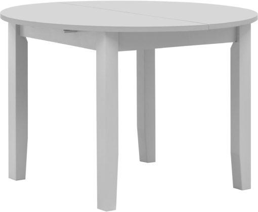 Klasyczny, rozkładany stół, okrągły