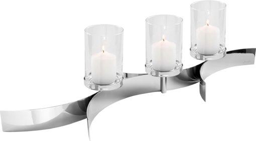 Nowoczesny świecznik z żelaza