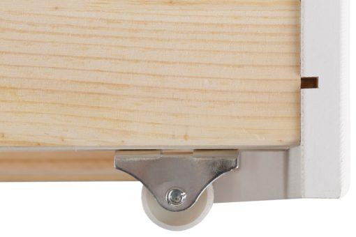Zestaw eleganckich szuflad pod łóżko - 2 sztuki