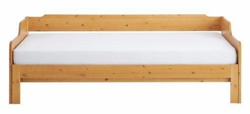 Rozkładany tapczan z drewna sosnowego